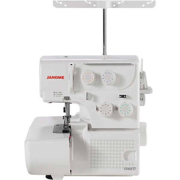 Janome 8002D 3 or 4 Thread Serger Machine