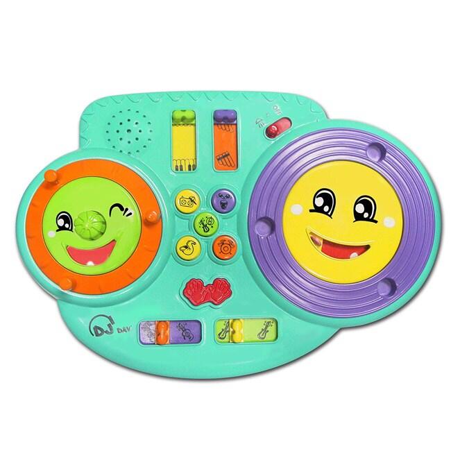 Kidz Delight D.J. Danny Multicolored Plastic Toy (Five Music Styles)