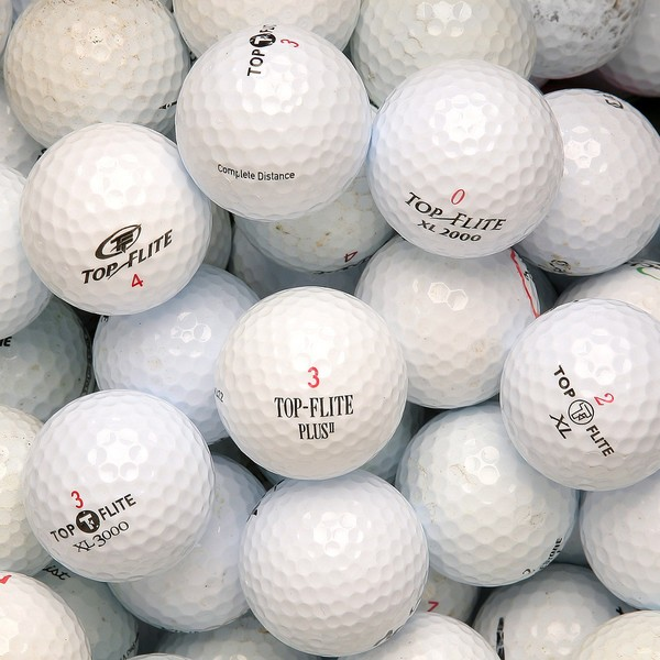 Topflite Mixed Model Golf Balls (Pack of 36) (Recycled)