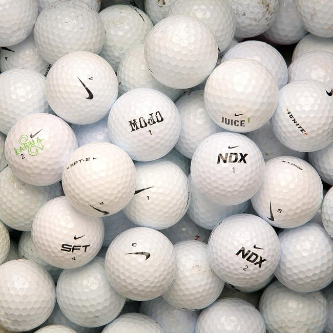 Nike Mixed Model Golf Balls (Pack of 36) (Recycled)
