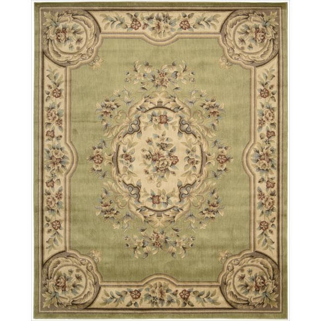 Nourison Chateau Green Rug (7'9 x 9'9)