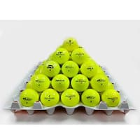 Yellow Mixed Model Golf Balls (Pack of 36) (Recycled)