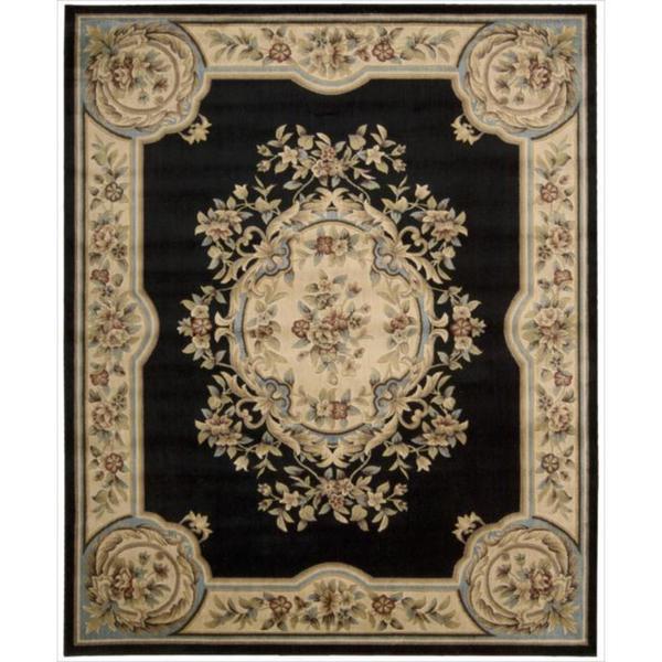 Nourison Chateau Black Rug (7'9 x 9'9)
