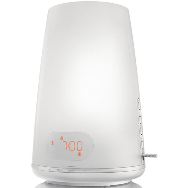 Philips HF3485/60 White Wake-up Light Plus