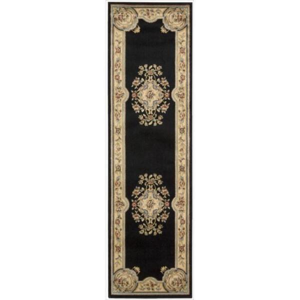 Nourison Chateau Black Rug (2'3 x 8')