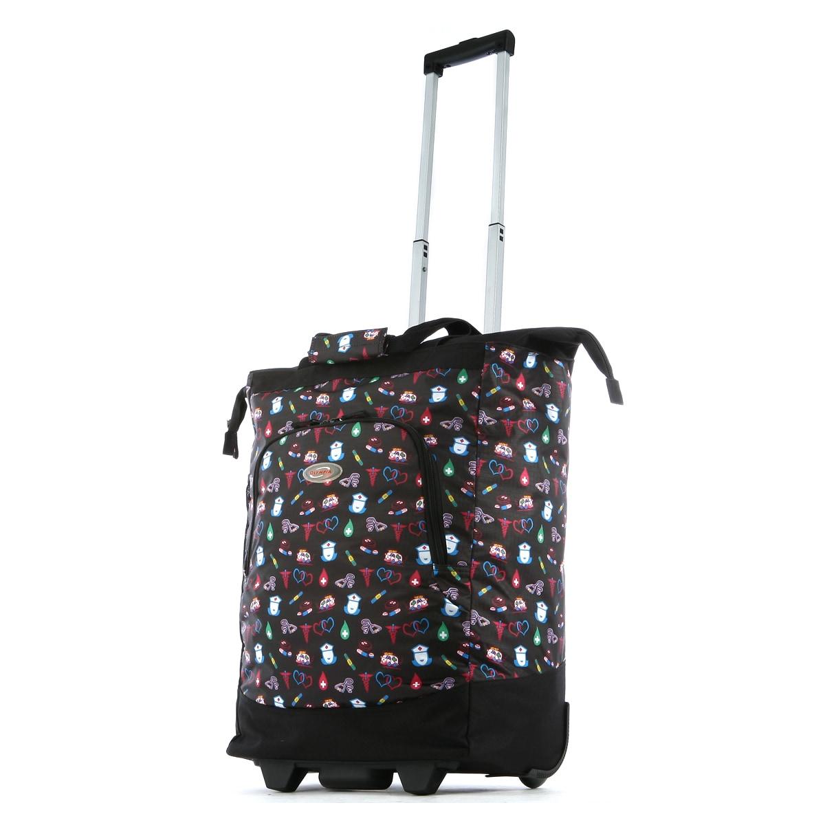 Nursing Bags On Wheels >> Olympia Nurse 20 Inch Rolling Shopper Tote