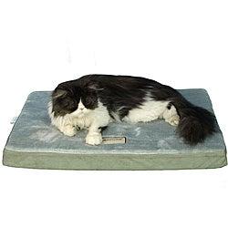 Armarkat Sage Green/ Grey 31x23-inch Memory Foam Orthopedic Pet Bed Pad