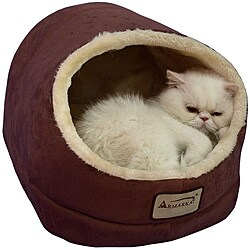 Armarkat Indian Red 18x14-inch Cat Bed - N/A