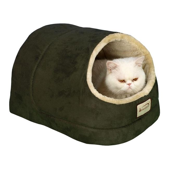 Armarkat Laurel 18-inch Green Cat Bed