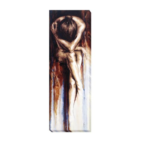Antoine de Villiers 'Stasis' Canvas Art (36 in x 12 in, Ready to Hang)