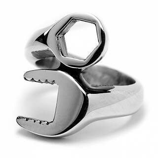 Oliveti Stainless Steel Combination Wrench Ring