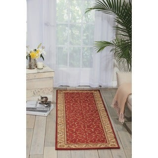 Nourison Somerset Red Area Rug (2'3 x 8')