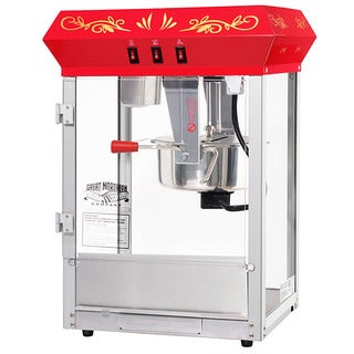 Great Northern All Star Red Countertop Popcorn Machine