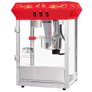 great northern popcorn gnp850 all star red countertop popcorn machine