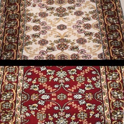 Anoosha Isfahan Runner Rug (2'2 x 11') - Thumbnail 1