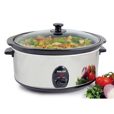 Better Chef 3.5-quart Oval Slow Cooker