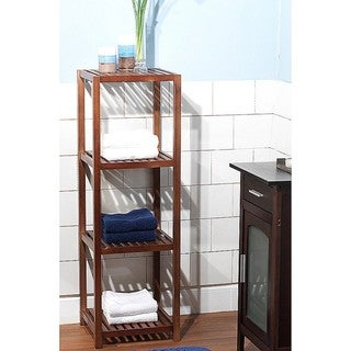 Simple Living Bamboo 4-tier Shelf