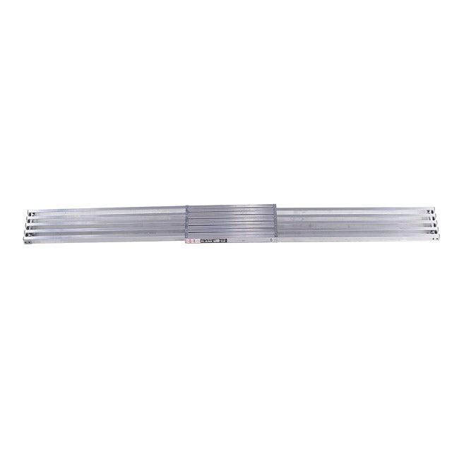 Little Giant 8 to 13-foot Telescoping Plank - Silver (Alu...