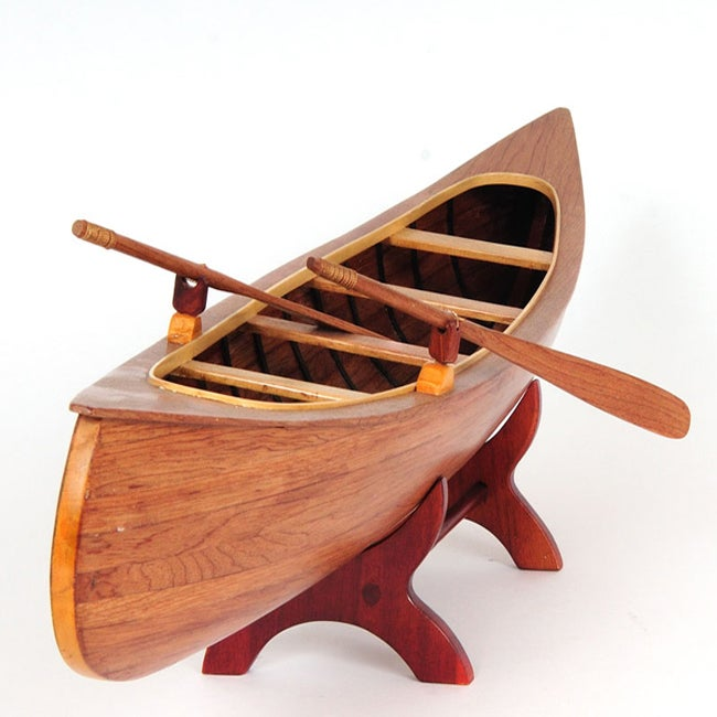 Old Modern Handicrafts Peterborough Canoe Model