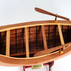 Old Modern Handicrafts Peterborough Canoe Model - Thumbnail 1