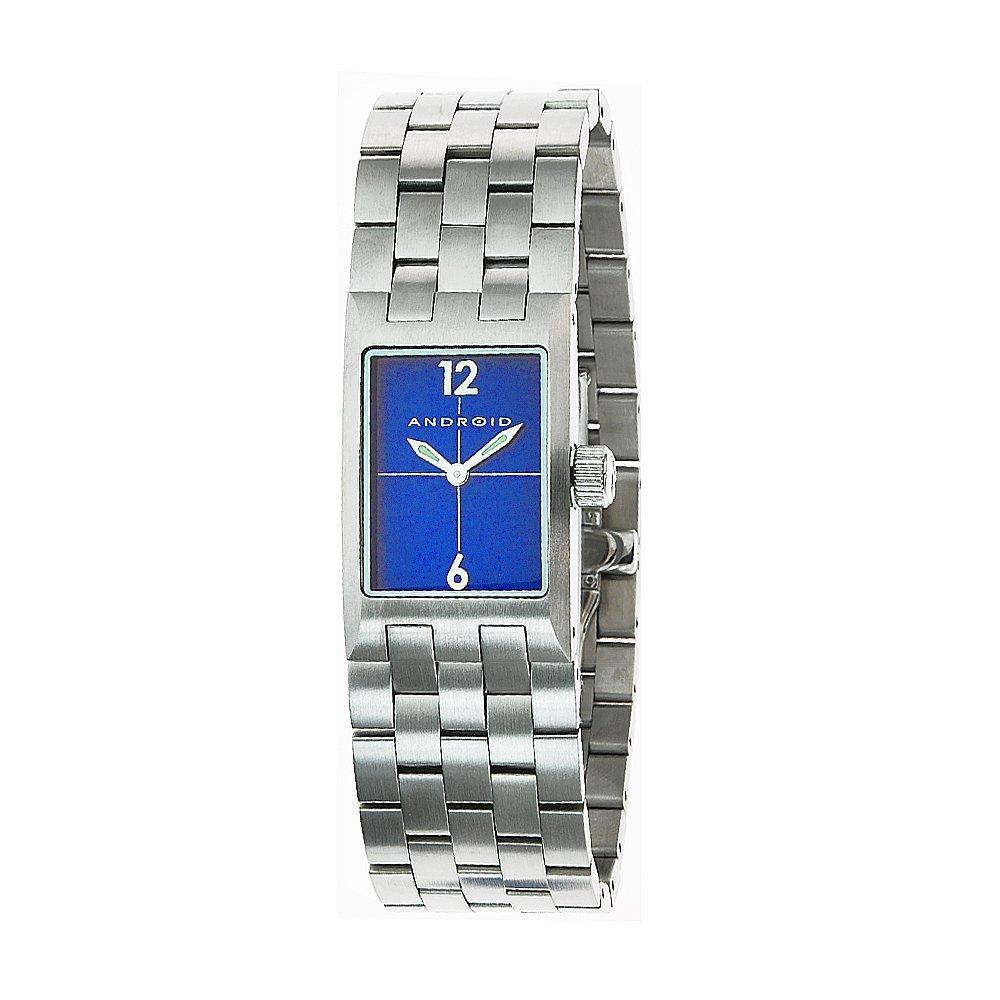 Android Women's 'Paris' Stainless Steel Blue Dial Watch