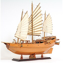 Old Modern Handicrafts Chinese Junk Model