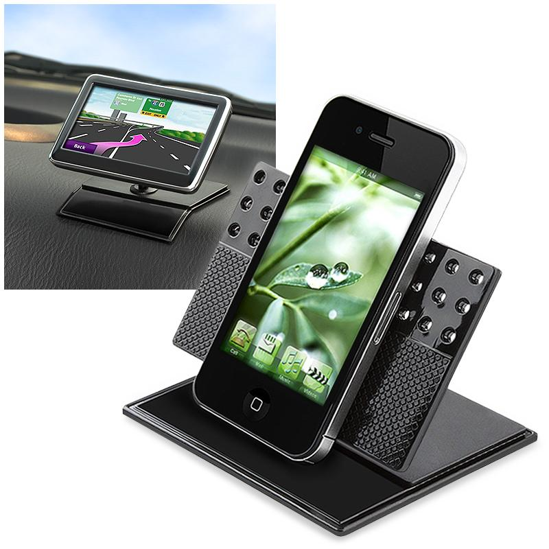 INSTEN Universal Car Dashboard 360 Swivel Holder for Apple iPhone 4S/ 5S/ 6