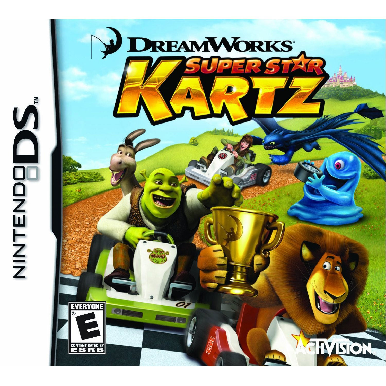 NinDS - Dreamworks Super Star Kartz