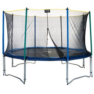 Pure Fun 12 ft. Trampoline with Enclosure