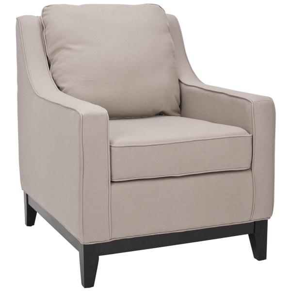 Safavieh Uptown Linen Beige Club Chair