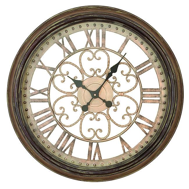 Hampton Metal Art Wall Clock