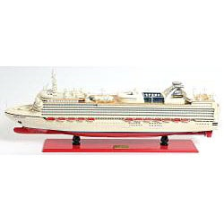 Old Modern Handicrafts Diamond Princess Boat Model - Thumbnail 1