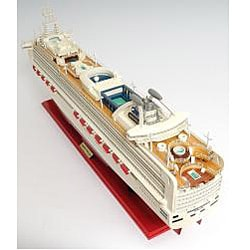 Old Modern Handicrafts Diamond Princess Boat Model - Thumbnail 2