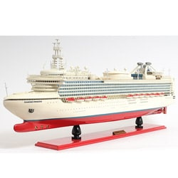 Old Modern Handicrafts Diamond Princess Boat Model - Thumbnail 0