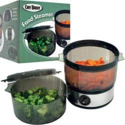 Chef Buddy Food Steamer https://ak1.ostkcdn.com/images/products/6150881/77/282/Chef-Buddy-Food-Steamer-P13809976.jpg?impolicy=medium