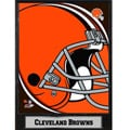 2011 Cleveland Browns Logo Plaque