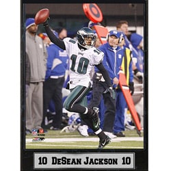 Philadelphia Eagles DeSean Jackson Stat Plaque