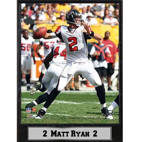 Atlanta Falcons Matt Ryan Stat Plaque