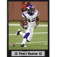 Minnesota Vikings Percy Harvin Stat Plaque