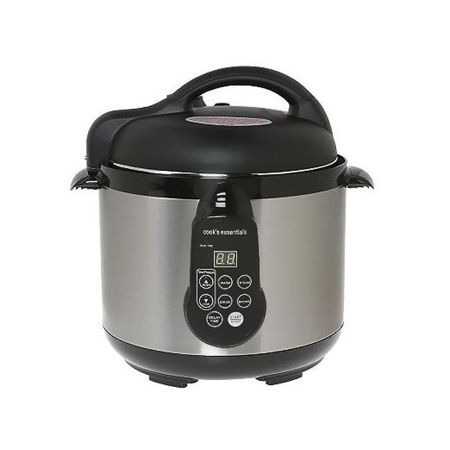 Deni 4.2-qt Digital Stainless Steel Pressure Cooker (Refurbished)