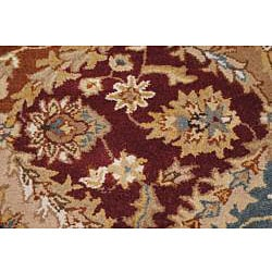 Hand-tufted Royal Garden Multicolor Ornate Wool Rug (5' x 8') - Thumbnail 1