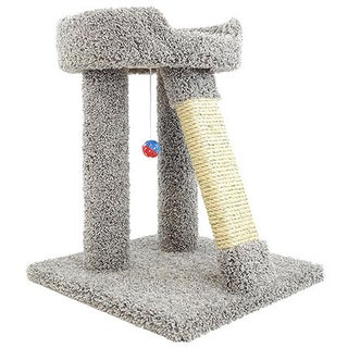New Cat Condos 24-inch Elevated Cat Bed Tree (Option: Gray)