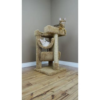 New Cat Condos Scratch and Lounge Cat Tree