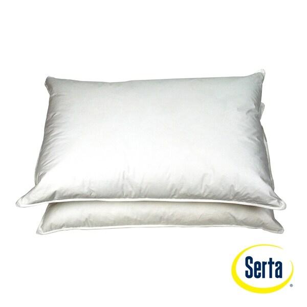 Serta Poly-Around Feather Pillows (Set of 2)