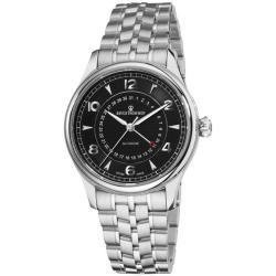 Revue Thommen Men's 10012.2137 'Date Pointer' Stainless Steel Automatic Watch