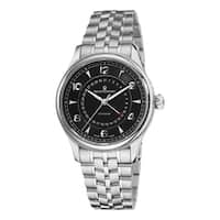 Revue Thommen Men's  'Date Pointer' Stainless Steel Automatic Watch