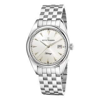 Revue Thommen Men's 'Heritage' Stainless Steel Automatic Watch