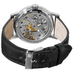 Revue Thommen Men's 'Classical RT 1953' Leather Strap Mechanical Watch - Thumbnail 1