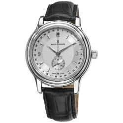 Revue Thommen Men's 14200.2532 'Classic' Silver Face Pointer Date Watch
