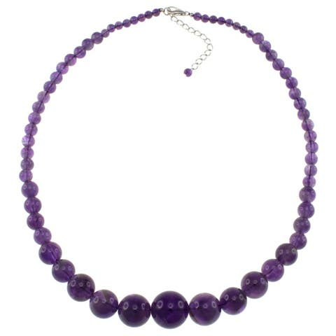 Pearlz Ocean Amethyst Journey Beads Women Necklace